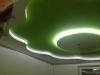 двухуровневый потолок с подсветкой