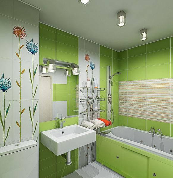 Дизайн в ванной комнате 1.5 на 1.7