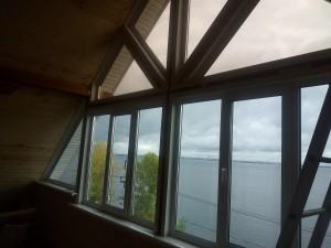 откосы на дачные окна