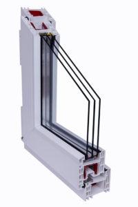 Пластиковые окна Брусбокс 6-ти камерный