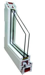 окна Брусбокс 4-х камерный